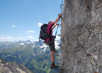 Leiter Mindelheimer Klettersteig