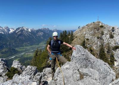 12 Apostel Grat mit Bergführer