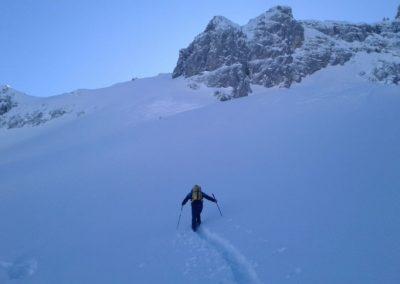 skitourenwoche, Skitourenwoche im Allgäu