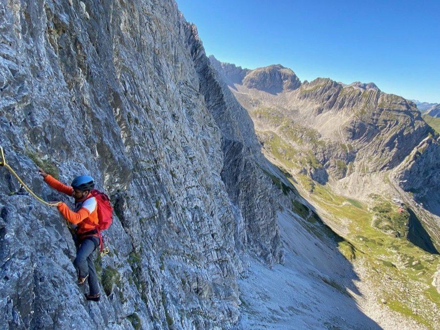 Grundkurs Alpin Klettern im Tannheimer Tal
