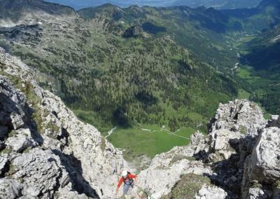 Bayerländer Weg mit Bergführer