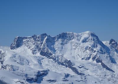 Saas Fee Runde mit Ski - Breithorn