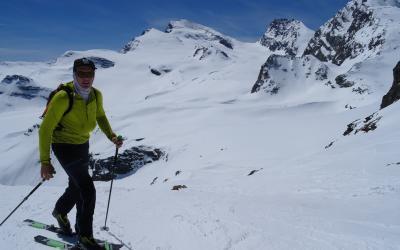 4x 4000er in Saas Fee mit Ski