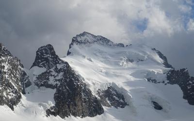 Barre des Écrins/Dôme de Neige und Dufourspitze/Nordend
