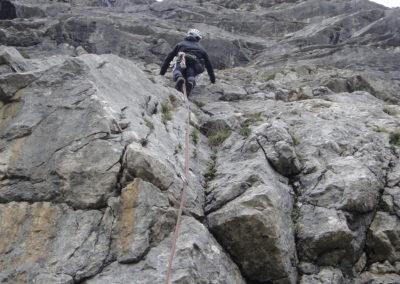 2x Alpinklettertage auf dem Prinz-Luitpold-Haus: Sportklettern an der TAM-TAM Wand