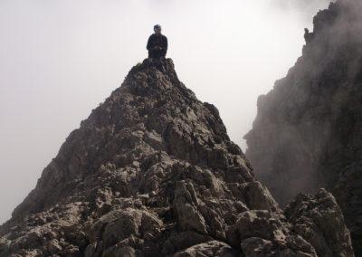 Klettertour Krottenspitzengrat