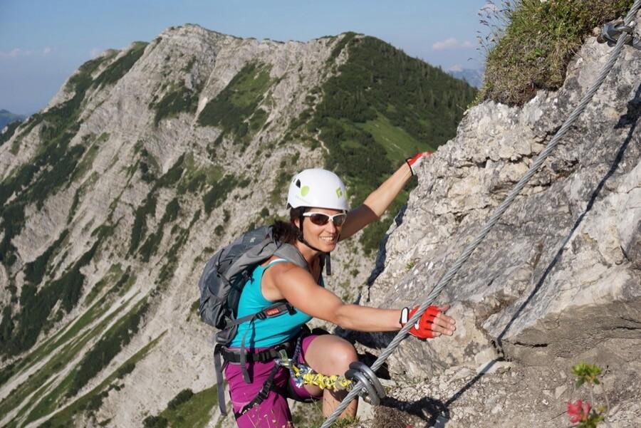Edelrid Klettersteig mit Bergführer