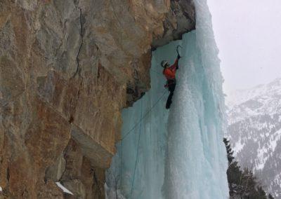 Eisklettern im Allgäu mit Bergführer