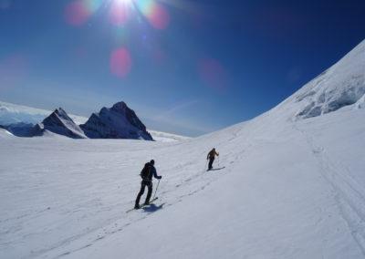Berner Oberland - Aufstieg zum Hinteren Fiescherhorn