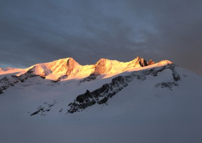 finsteraahorn bergführer, Finsteraahorn und Grosses Grünhorn mit Ski
