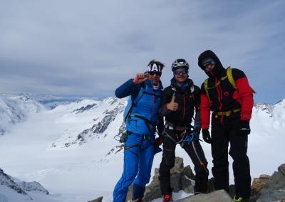 Berner Oberland - Gipfel Gross Grünhorn