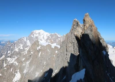Grandes Jorasses Überschreitung mit Bergführer