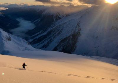 Skitouren und Tiefschneefahren mit Bergführer