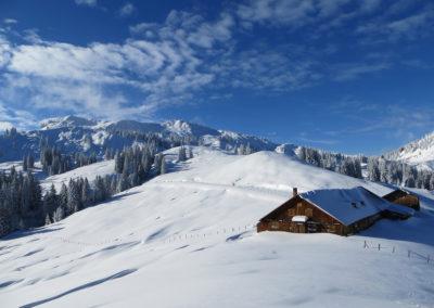 Skitouren mit Bergführer im Allgäu