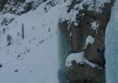 individuelle Eiskletterkurse mit IVBV Bergführer
