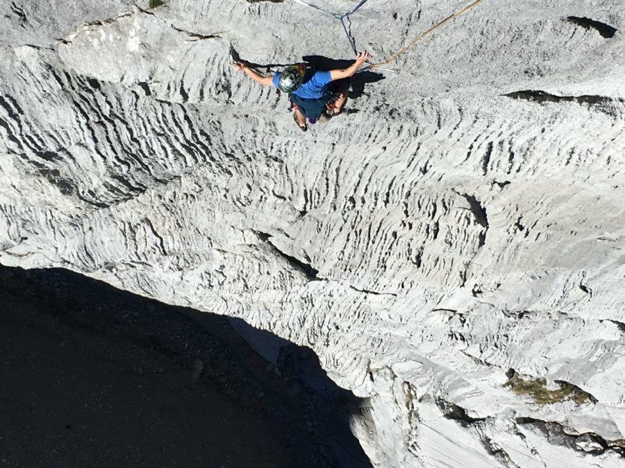 Klettern Freispitze Schreck-Heel mit Bergführer