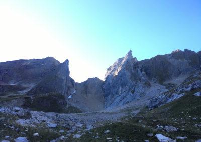 Klettern an der Freispitze im Lechtal mit Bergführer