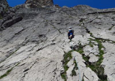 grundkurs klettern, Grundkurs Mehrseillängen Klettern im Allgäu