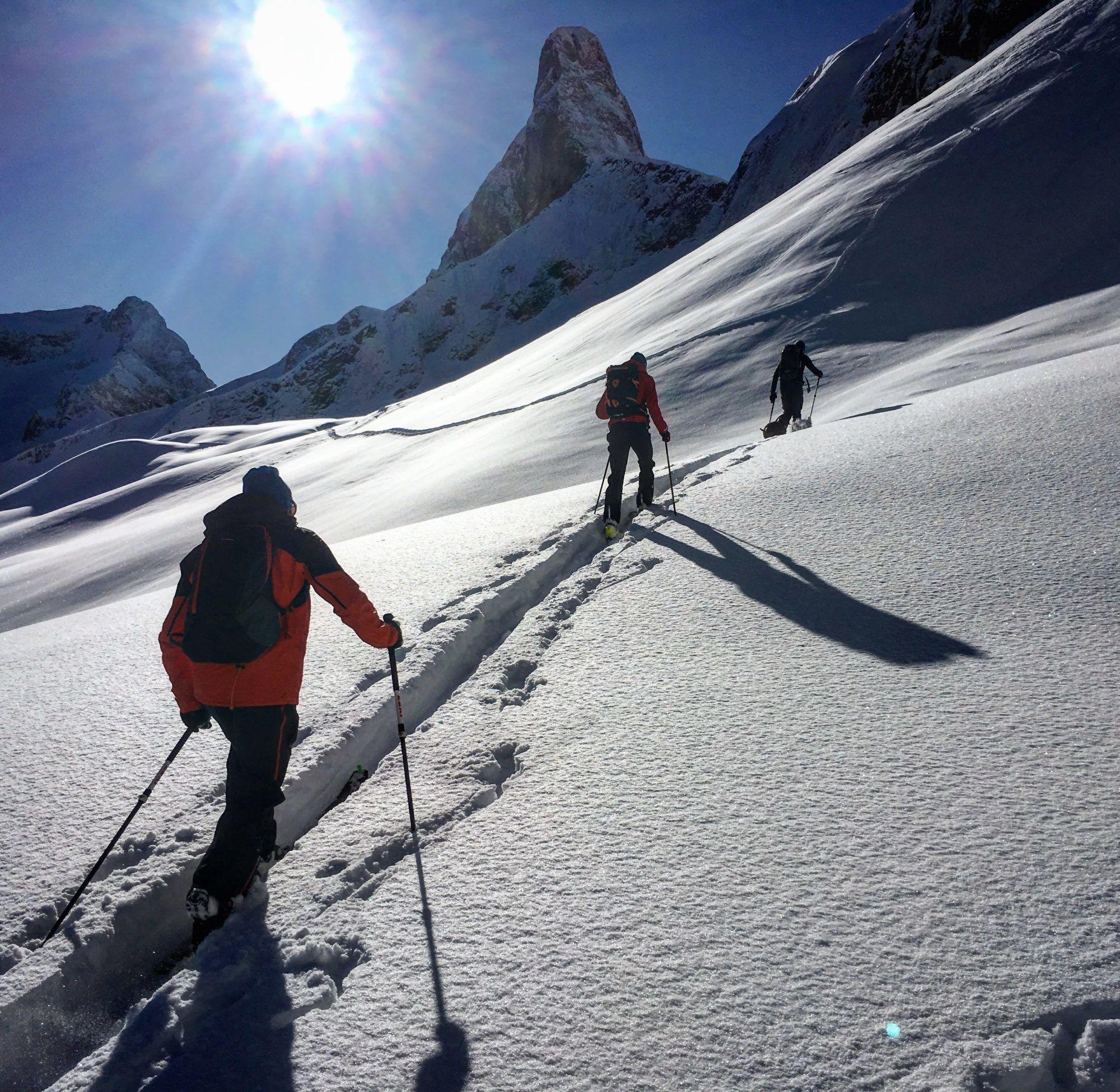 individuelle Skitouren mit IVBV Bergführer