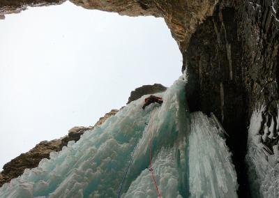 Eisklettern Kanada, Eisklettertrip Kanada 1.0
