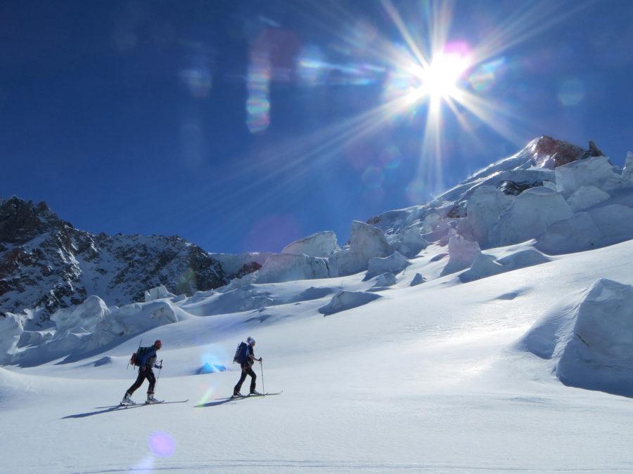 Skihochtouren im Saastal