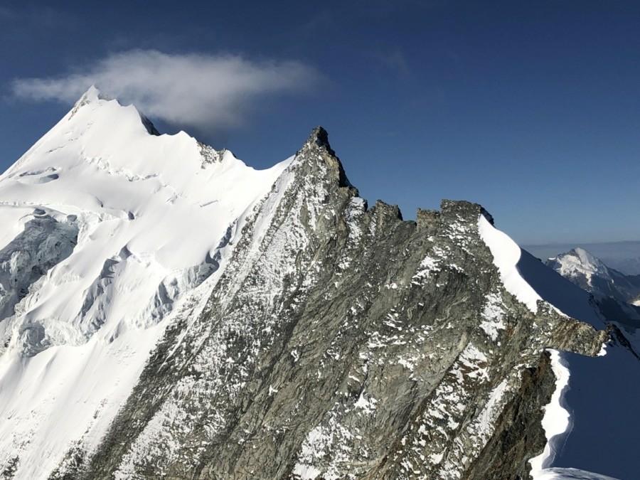 weisshorn bergführer, Weisshorn Überschreitung