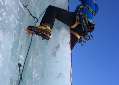 eisklettern bergführer, Eiskletterwochenende in Tirol