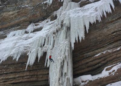individuelle Eisklettertouren mit Bergführer