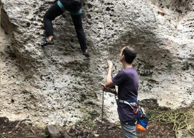 Grundkurs Klettern, Grundkurs Klettern im Allgäu
