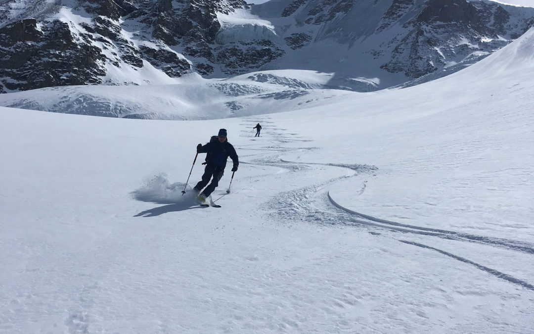 Mont Blanc & Gran Paradiso mit Ski