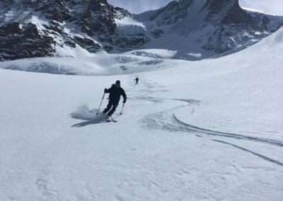 bergführer saas fee, Skihochtouren 4000er in Saas Fee