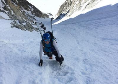 Tour Alpine Eiskletterwoche in Chamonix