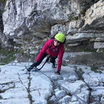Kategorie Klettersteig