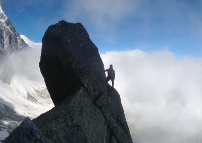 Kletterwoche Chamonix mit Bergführer