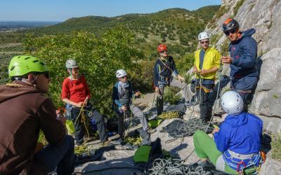 Grundkurs Klettern im Allgäu