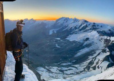 Matterhorn Hörnligrat mit Bergführer