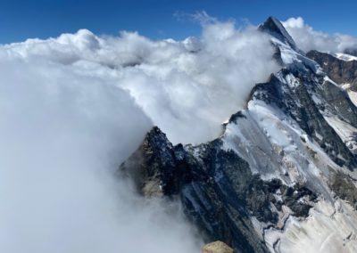 Matterhorn Liongrat mit Bergführer