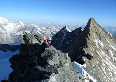 Nadelgrat & Lenzspitze O-Grat mit Bergführer
