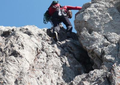 Trettachspitze Überschreitung mit Bergführer