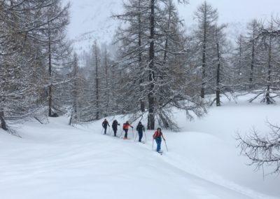 Skitourenkurs Einsteiger im Allgäu mit Bergführer