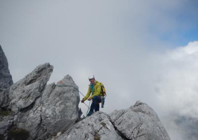 Grundkurs Alpin Klettern mit Bergführer