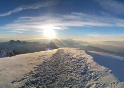 Tour Route Royal - Überschreitung Aiguille Bionnassay und Mont Blanc