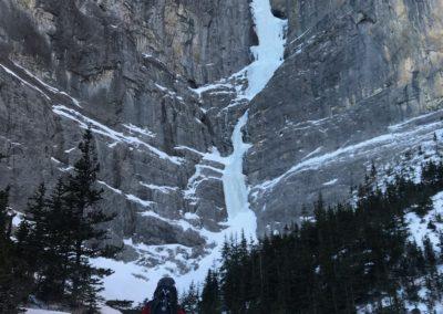 Zustieg zum Sorcerer Eisfall