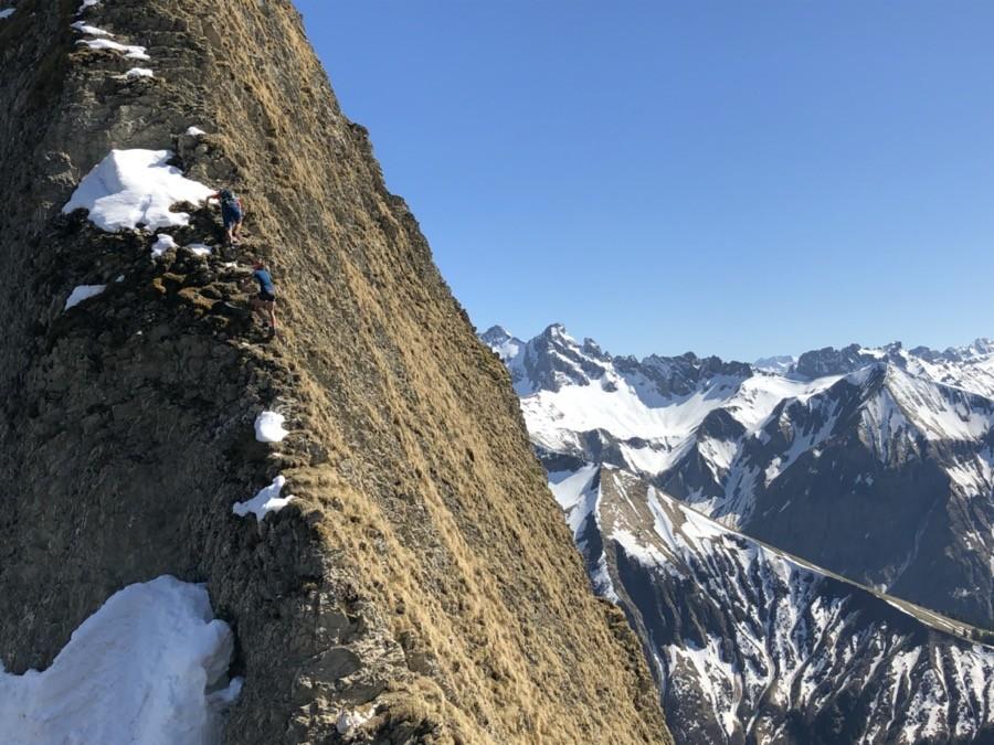 Höfats Überschreitung mit Bergführer