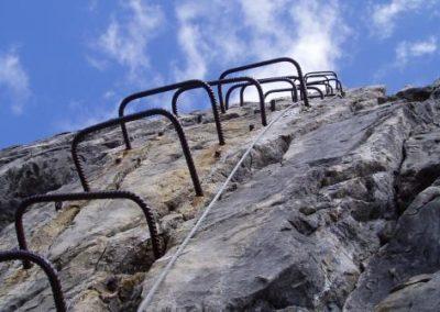 Führung Mindelheimer Klettersteig