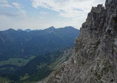 Klettertour Kleiner Daumen Nordostkante mit Bergführer