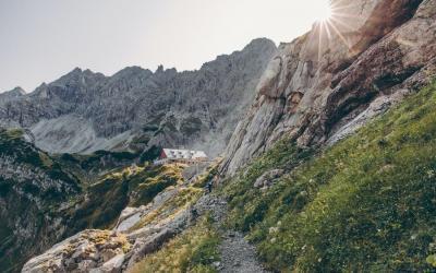 geführtes Alpinklettern im Allgäu