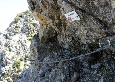 Drahtseil Salewa Klettersteig