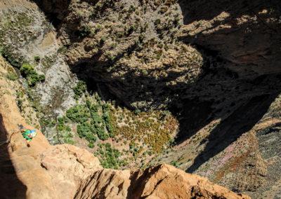 Klettern Marokko, 9 Tage Mehrseillängen Klettern in Marokko, Taghia