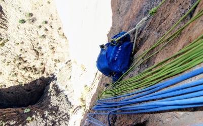 9 Tage Mehrseillängen Klettern in Marokko, Taghia